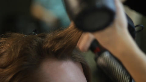 haircut Stock Video Footage