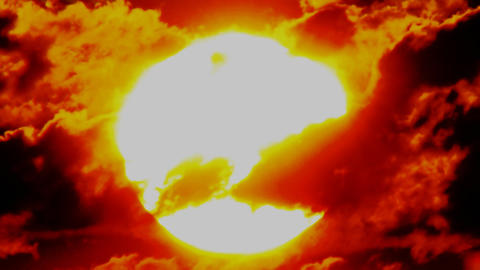 sun background time lapse Stock Video Footage
