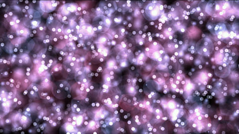 flowing color light dots & particles,dancing... Stock Video Footage