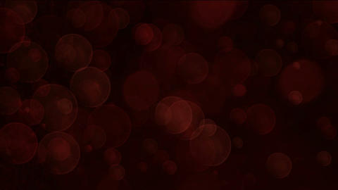 red light circle dots & particles slow glint,bubble & blister chrismas b Animation