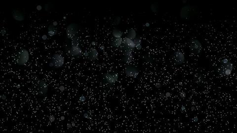 dust & partoicles,falling snow & light... Stock Video Footage