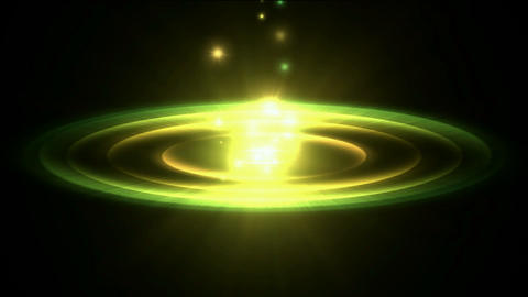 rotation circle energy field launch rays laser light... Stock Video Footage