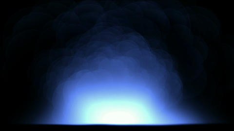 explosion atom nuclear in darkness,smoke and fire,war... Stock Video Footage