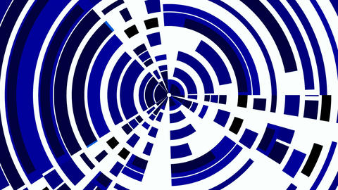 Dark blue circles from fragments. Wheel Stock Video Footage