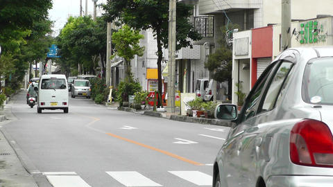 Ishigaki Okinawa Islands 19 traffic Footage