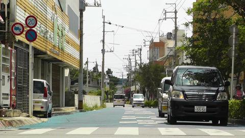 Ishigaki Okinawa Islands 24 traffic Stock Video Footage