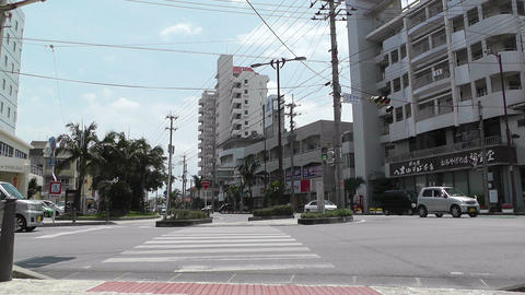 Ishigaki Okinawa Islands 29 street Stock Video Footage