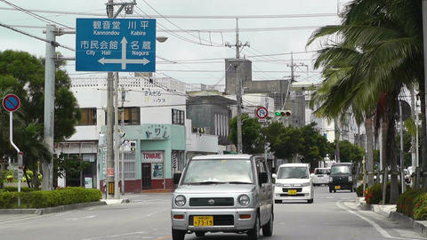 Ishigaki Okinawa Islands 33 traffic Footage