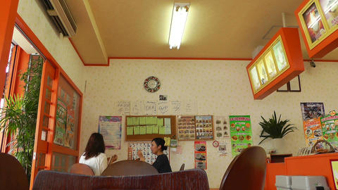Japanese Icecream Shop 01 Stock Video Footage