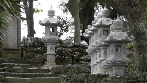 Japanese Shrine 03 Footage