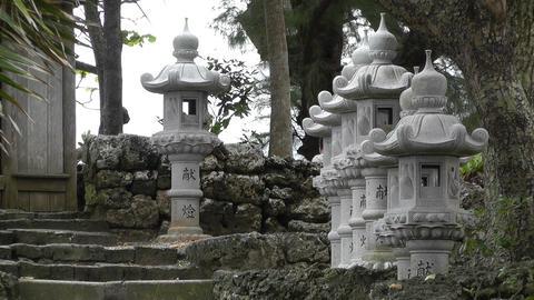 Japanese Shrine 03 Stock Video Footage