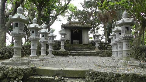 Japanese Shrine 05 Stock Video Footage