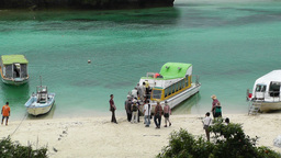 Kabira Beach Bay Ishigaki Okinawa Islands 04 Stock Video Footage