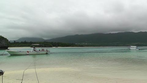 Kabira Beach Bay Ishigaki Okinawa Islands 06 Stock Video Footage