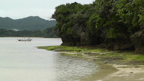 Kabira Beach Bay Ishigaki Okinawa Islands 08 Stock Video Footage