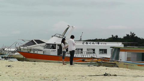 Kabira Beach Bay Ishigaki Okinawa Islands 10 Stock Video Footage