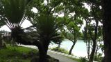 Kabira Beach Bay Ishigaki Okinawa Islands 12 pan handheld Footage