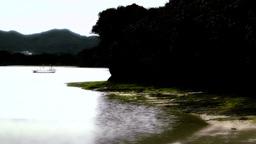 Kabira Beach Bay Ishigaki Okinawa Islands stylized 02 Stock Video Footage