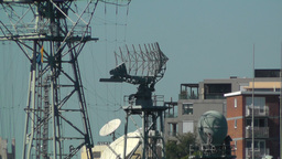 Military Radar 02 Stock Video Footage