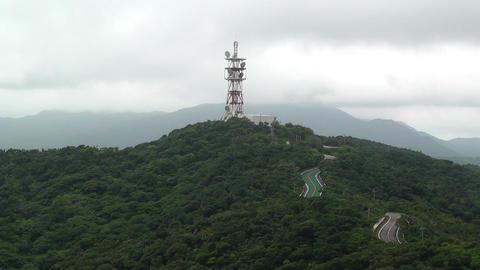 Mount Omoto in Ishigaki Okinawa Islands 02 Stock Video Footage