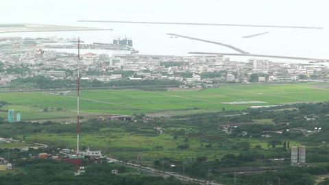 Mount Omoto view to Ishigaki Okinawa Islands 05 Stock Video Footage