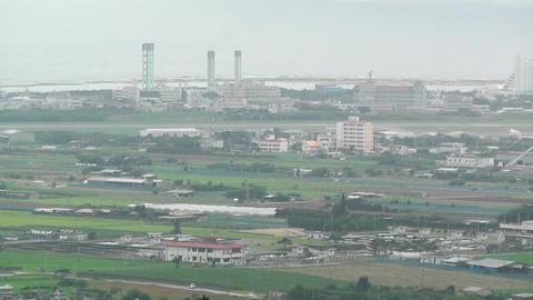 Mount Omoto view to Ishigaki Okinawa Islands 09 Stock Video Footage