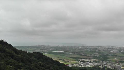 Mount Omoto view to Ishigaki Okinawa Islands 11 Stock Video Footage