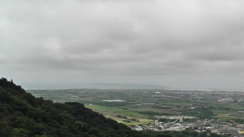 Mount Omoto view to Ishigaki Okinawa Islands 11 Footage