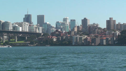 North Sydney view 01 Footage