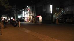 Okinawa Islands Street at Night 11 Footage