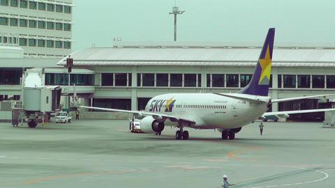 Okinawa Naha Airport 17 sky Footage