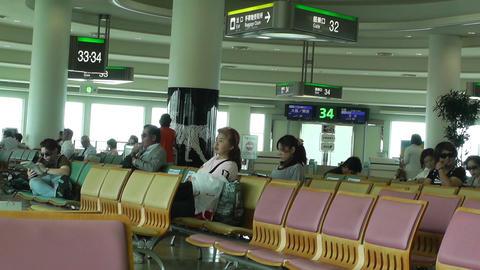 Okinawa Naha Airport Terminal 07 Footage