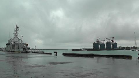 Port in Ishigaki Okinawa 02 Stock Video Footage