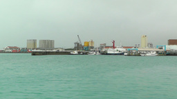 Port in Ishigaki Okinawa 14 Stock Video Footage