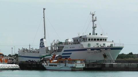Port in Ishigaki Okinawa 22 Stock Video Footage
