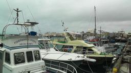 Port in Ishigaki Okinawa 26 Stock Video Footage