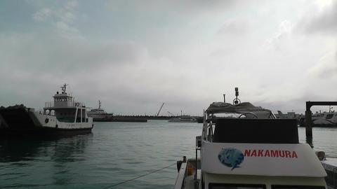 Port in Ishigaki Okinawa 32 Stock Video Footage