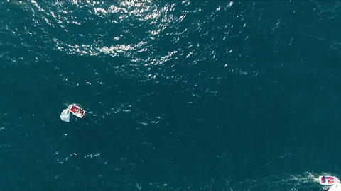 Sailing Fest In Turkey stock footage