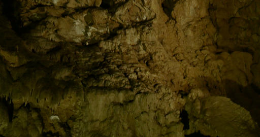 cave carbonate rock 03 Footage