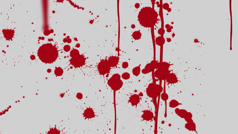 Blood Splatter Animation