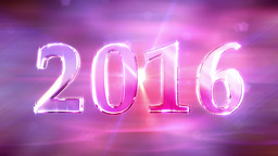 New Year 2016 Loopable Animation Animation