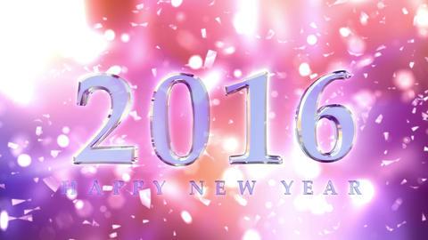 New Year 2016 Animation 4K Animation