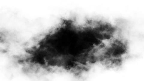Smoky clouds loop Animation