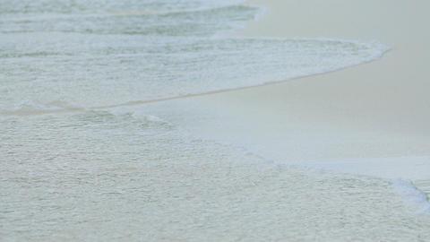 Waves on beach Footage