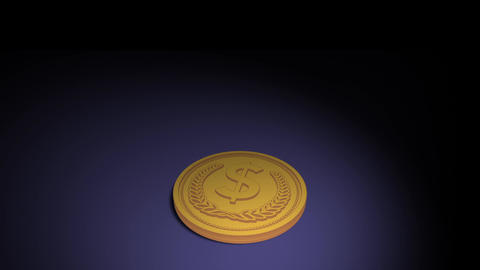 Coin Spinning Animation