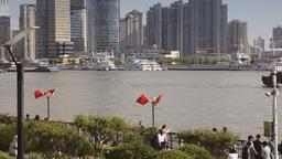 The Bund in Shanghai Footage