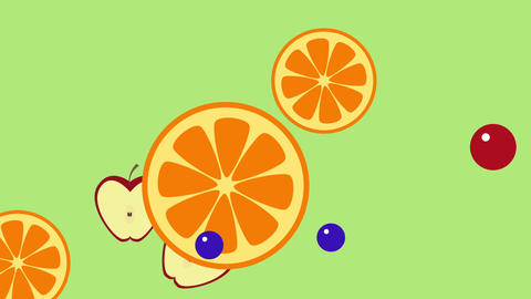 Fruit Transitions Animation