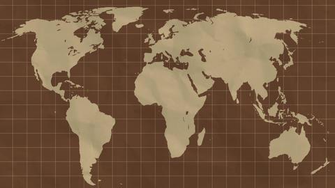 Map Unfold Animation