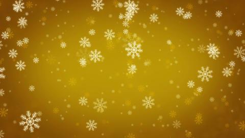 Beautiful Snowflakes - winter background. Seamless loop Animation