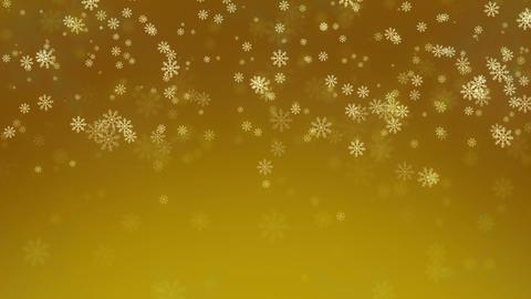 Beautiful Snowflakes - winter background. Seamless loop Stock Video Footage